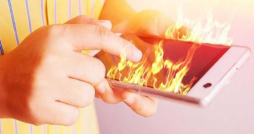 دمای داخلی گوشی های هوشمند