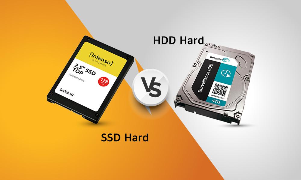 تفاوت هارد های  HDD   و SSD
