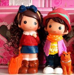 عروسک های قلکی