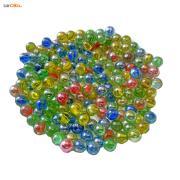 بسته 200 تایی تیله شیشه ای رنگی سایز کوچک