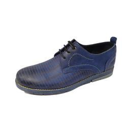 کفش چرم طبیعی 2044 بندی