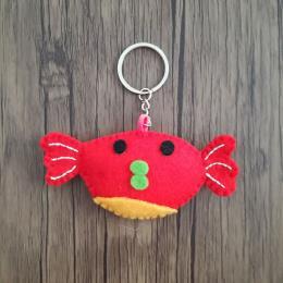 جاسوئیچی فانتزی نمدی طرح ماهی