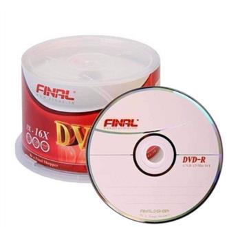 دی وی دی خام فینال DVD-R بسته 50 عددی
