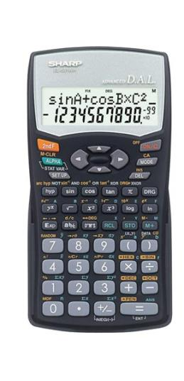 ماشین حساب مهندسی شارپ مدل EL-531WH
