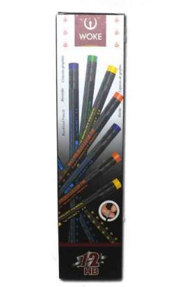 مداد مشکی WOKE-بسته های 12 عددی