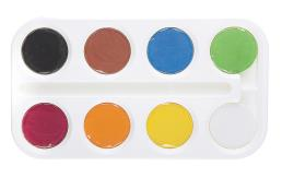 آبرنگ 8 رنگ استدلر
