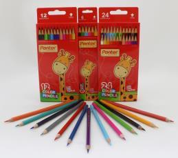مداد رنگی 24 رنگ پنتر جعبه مقوایی