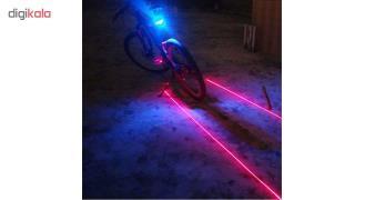 چراغ لیزری دوچرخه (7 حالته)