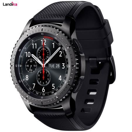 ساعت هوشمند سامسونگ مدل Gear S3 Frontier SM-R760 به همراه بند استیل کلاسیک و استیل مگنتی و بند اورجینال در 2 سایز