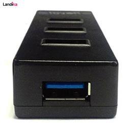 هاب 4 پورت USB 3.0 رویال مدل RH3-412