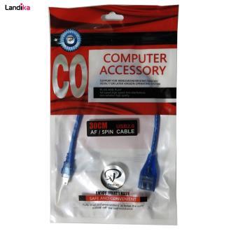 کابل تبدیل miniUSB به USB ایکس پی-پروداکت طول 0.3 متر