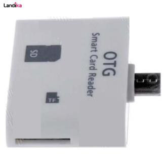 مبدل کارت حافظه Micro SD و SD و USB به microUSB ونوس مدل PV-T10