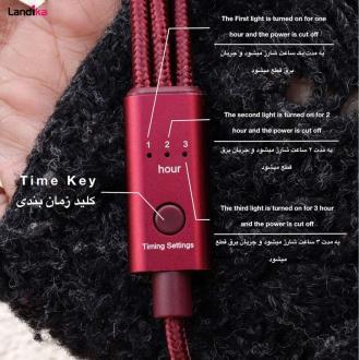 کابل تبدیل USB به microUSB /لایتنینگ/ USB-C مدل QC-200 طول 1.2 متر