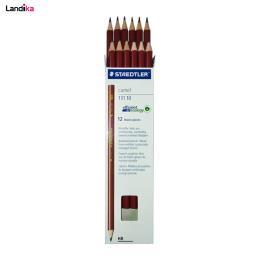 مداد مشکی استدلر مدل Camel بسته 12 عددی