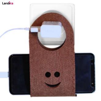 پایه نگهدارنده شارژر و گوشی موبایل مدل ایستاده