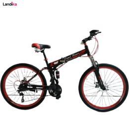 دوچرخه لندرور تاشو سایز 26 ترمز دیسکی