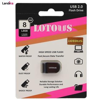 فلش مموری لوتوس USB 2.0 مدل L808 ظرفیت 8 گیگابایت