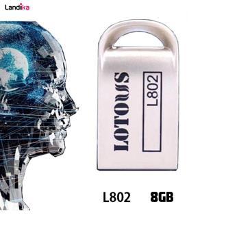 فلش مموری لوتوس USB 2.0 مدل L802 ظرفیت 8 گیگابایت