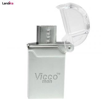 فلش مموری ویکو من مدل VC120S OTG USB2.0 ظرفیت 16 گیگابایت