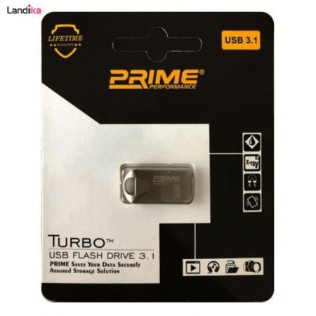 فلش مموری پرایم USB3.1 PRIME مدل TURBO ظرفیت 128 گیگابایت