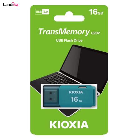 فلش مموری توشیبا مدل KlOXIA U202 ظرفیت 16 گیگابایت