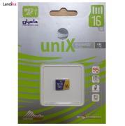کارت حافظه uniX microSDXC یو ان آی ایکس سرعت 95MBps ظرفیت 16 گیگابایت
