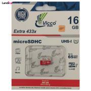 کارت حافظه microSDHC ویکو من مدل 433X کلاس 10 استاندارد UHS-I U1 سرعت 65MBps ظرفیت 16 گیگابایت