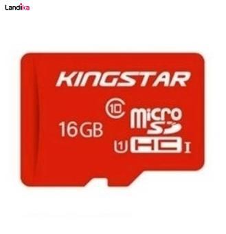 کارت حافظه microSDHC کینگ استار کلاس 10 استاندارد UHS-I U1 سرعت 85MBps ظرفیت 16 گیگابایت