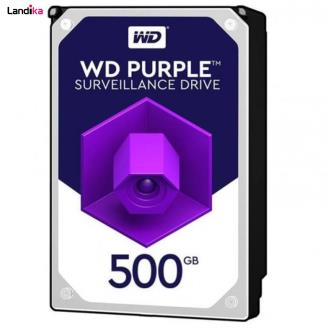 هارددیسک اینترنال وسترن دیجیتال مدل Purple WD05PURX ظرفیت 500 گیگابایت