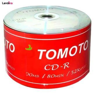 سی دی خام تومتو مدل CD-R بسته 50 عددی