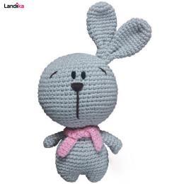 عروسک بافتنی مدل خرگوش کله گنده