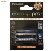 باتری قلمی قابل شارژ پاناسونیک مدل Eneloop Pro - بسته 2 عددی
