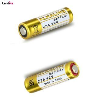 باتری ریموتی A27 مدل Alkaline 12V - بسته 5 تایی