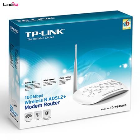 مودم روتر ADSL2 Plus بیسیم N150 تی پی-لینک مدل TD-W8951ND