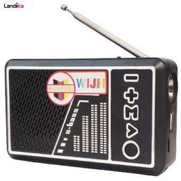 اسپیکر رادیو WIJH مدل ۳۱۸BT