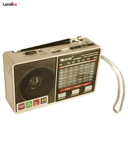 اسپیکر بلوتوثی قابل حمل گولون مدل RX-8866BT