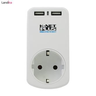 رابط برق تک خانه کی نت پلاس با 2 شارژ USB