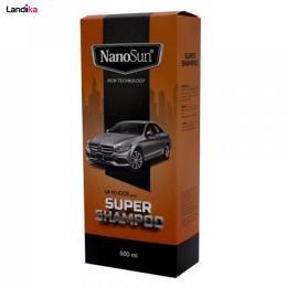 سوپر شامپو خودرو نانو حجم 500 میلی متر