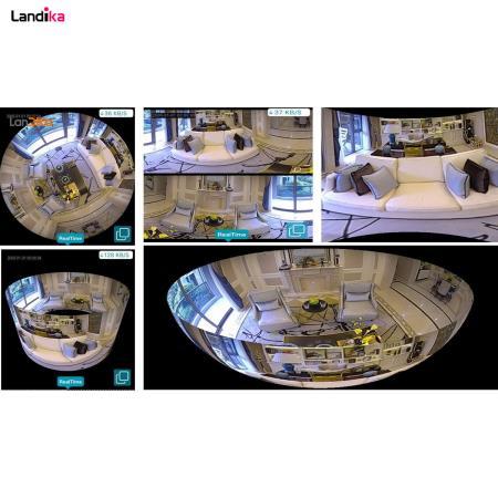 دوربین مداربسته لامپی وایرلس 360 درجه پانوراما icsee