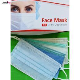 ماسک تنفسی سه لایه البرز ماسک