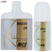 ادو پرفیوم زنانه نایس پاپت مدل Shiseido Zen حجم 82 میلی لیتر به همراه رول ضد تعریق