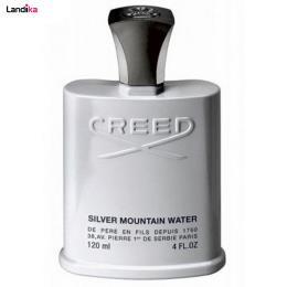 ادو تویلت مردانه کرید مدل Silver Mountain Water حجم 120 میلی لیتر
