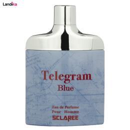 ادو پرفیوم مردانه اسکلاره مدل Telegram Blue حجم 82 میلی لیتر