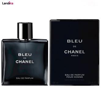ادوتویلت مردانه چنل مدل Bleu De Chanel حجم 100 میلی لیتر