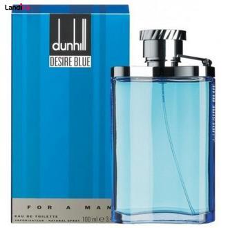 ادو تویلت مردانه دانهیل لاندن مدل Desire Blue حجم 100 میلی لیتر
