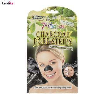 ماسک پاک کننده بینی مونته ژنه سری 7th Heaven مدل Charcoal