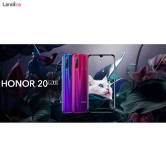 گوشی موبایل آنر مدل Honor 20 Lite HRY-LX1T دو سیم کارت ظرفیت 128 گیگابایت