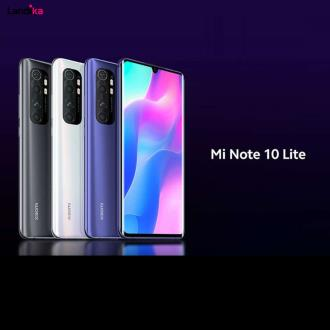 گوشی موبایل شیائومی مدل Mi Note 10 Lite دو سیم کارت ظرفیت 64 گیگابایت و رم 6 گیگابایت