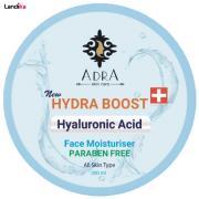 کرم مرطوب کننده و آبرسان آدرا حاوی هیالورونیک حجم 200میلی لیتر