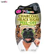ماسک صورت مونته ژنه سری 7th Heaven مدل Charcoal & Black Sugar peel-off حجم 10 گرم